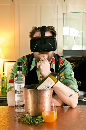Virtual reality opens up a whole new world for food and drink foodism benji purslow world class uk finalist 2015 and his creation sipping in the san donato sunshine freerunsca Images