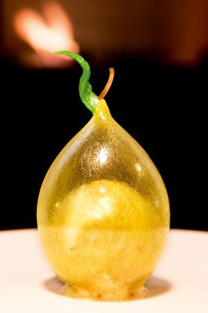Sugar lemon dessert at Frederikshøj