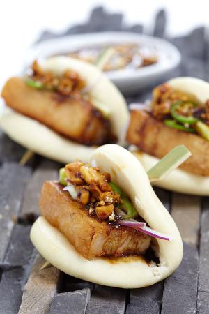 Kurobuta's pork belly buns