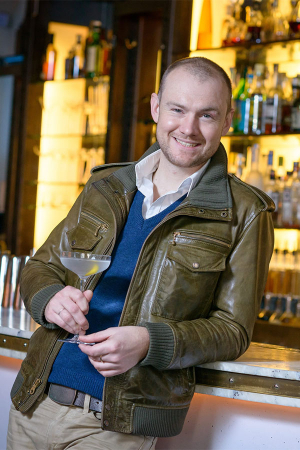 Artesian's new head bartender Pip Hanson
