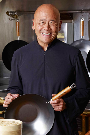 Ken Hom is one of Ching's biggest inspirations