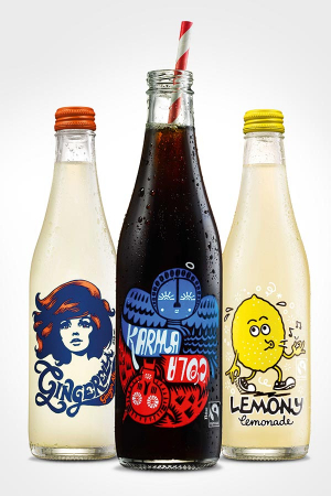 Karma Cola and All Good Drinks' range