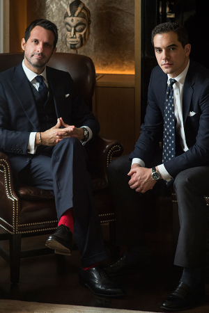 Nicolas Jaouën and Paolo de Tarso