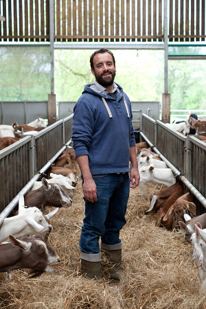 James Whetlor of Cabrito Goat
