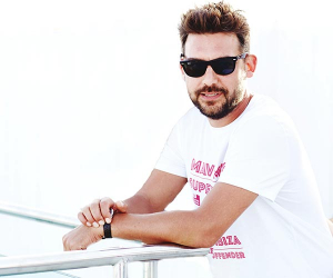 Mikey Vettraino is a DJ at Is Fradis Beach Club in Cala Sinzias, Sardinia and founder of Mav Music, which makes playlists for restaurant chains such as Wagamama, Soho House group, and restaurants including Temper and Frenchie.