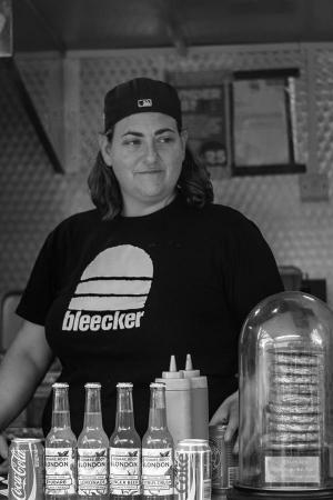 Bleecker Burger founder Zan Kaufman