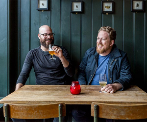 Dan Sylvester and Greg Wells of London Craft Beer Festival