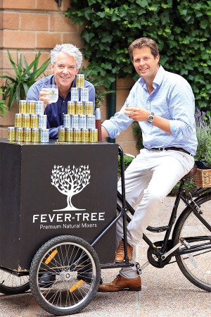 Fever-Tree's founders Charles Rolls and Tim Warrillow