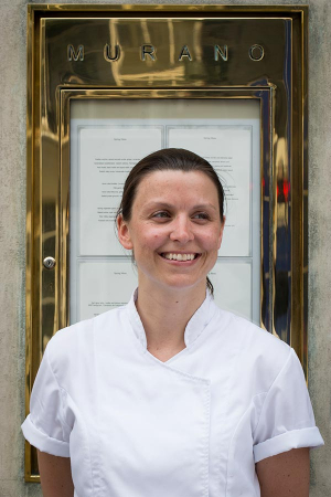 Pip Lacey is the head chef of Angela Hartnett's Michelin-starred Murano