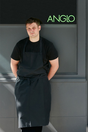 Mark Jarvis, whose restaurant Anglo serves a tasting menu for less than £50