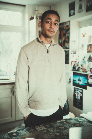London-based rapper Loyle Carner