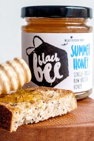 Black Bee Honey on toast
