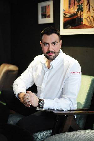 Pied à Terre's head chef Asimakis Chaniotis