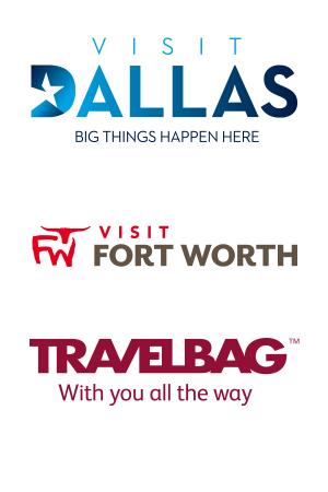 Visit Dallas logos