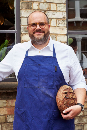 Fergus Jackson, co-owner of Brick House Bakery in East Dulwich and Peckham