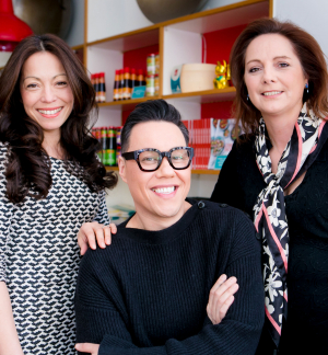 Gok Wan with his fellow Golden Chopsticks Award co-founders