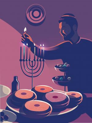 Jewish food: the food of Hanukkah