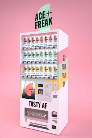 Future of drinking: Ace + Freak cocktail vending machine