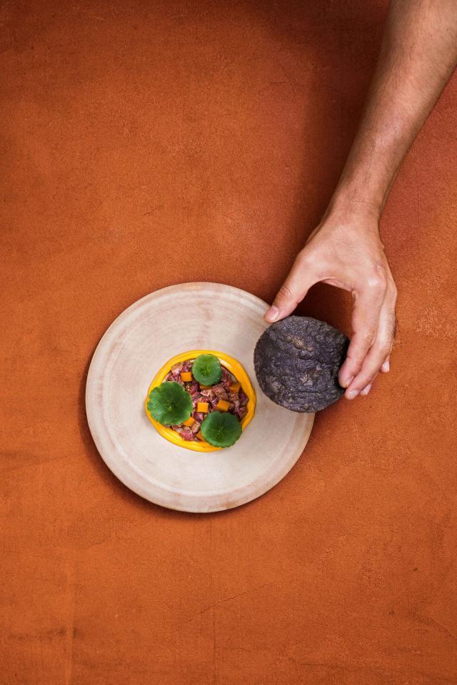 A dish at Kol