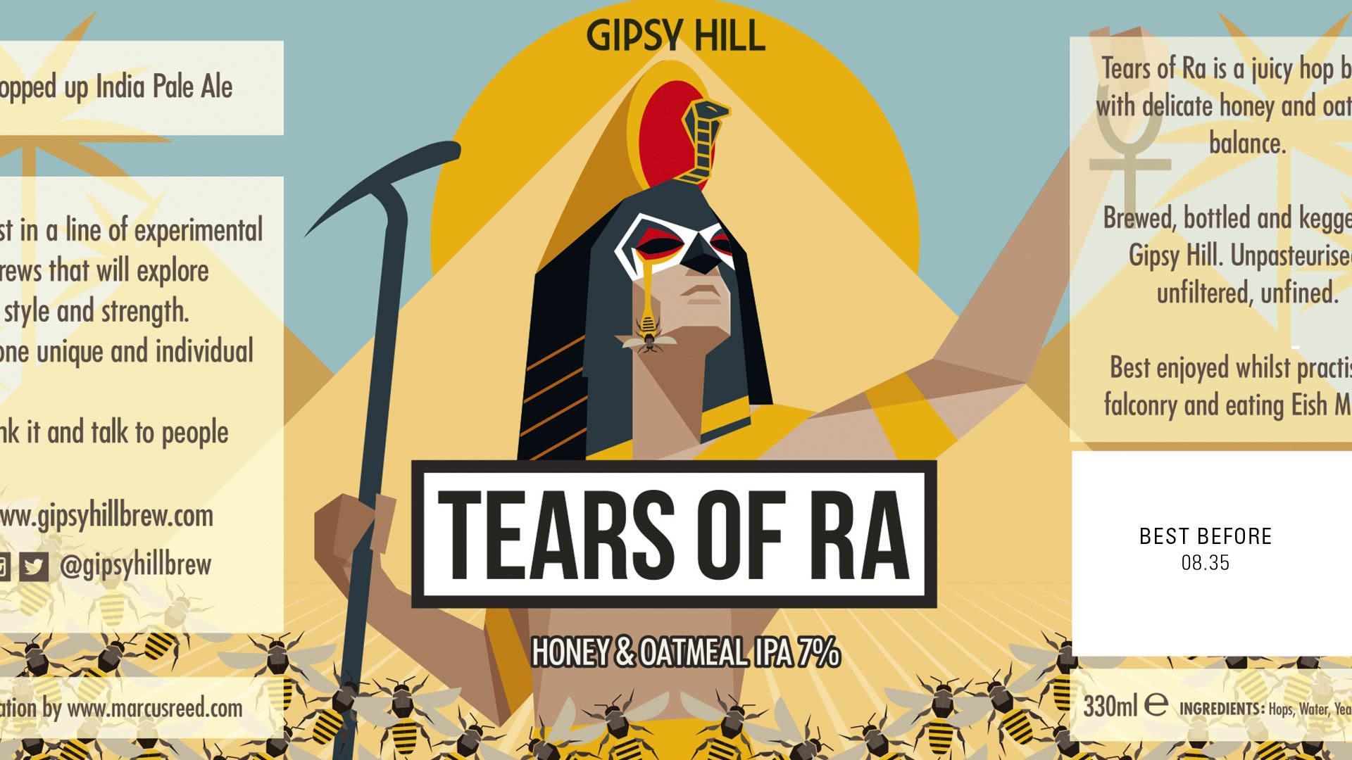 Gipsy Hill's striking label designs