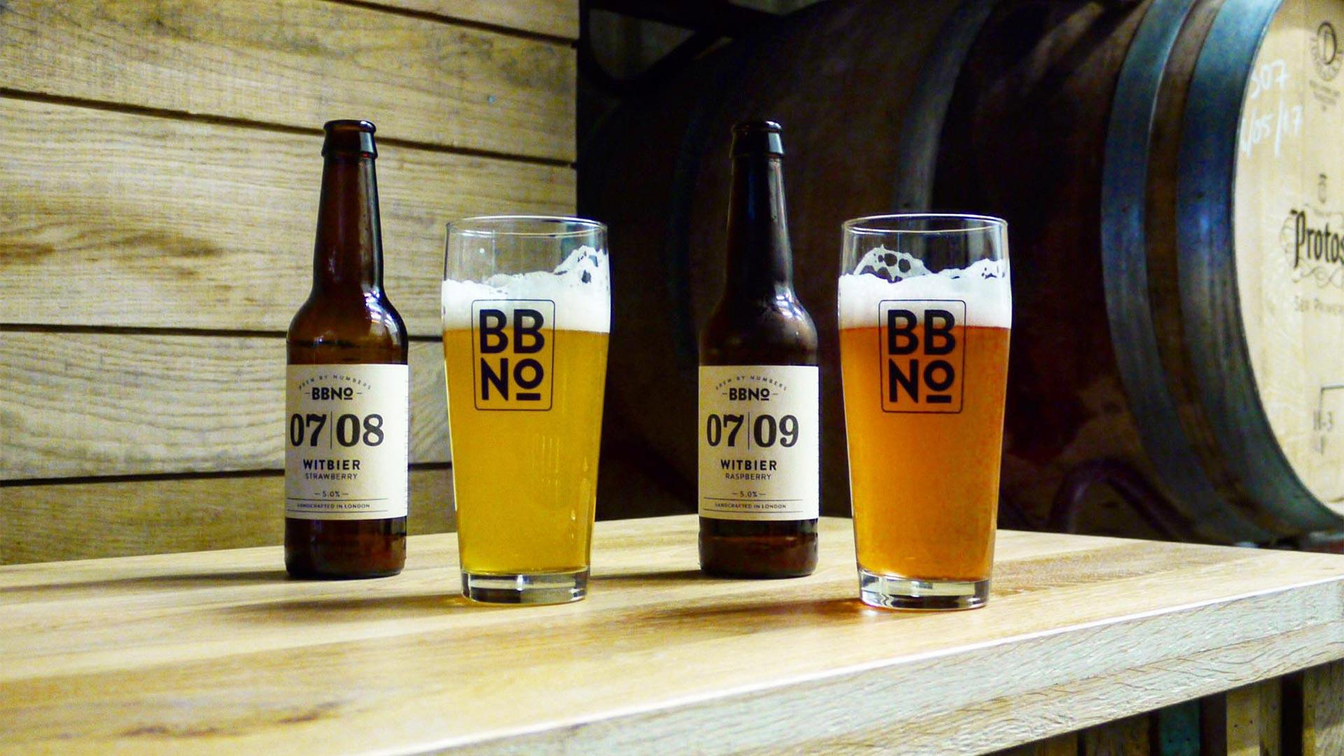 The new Brew By Numbers tap room