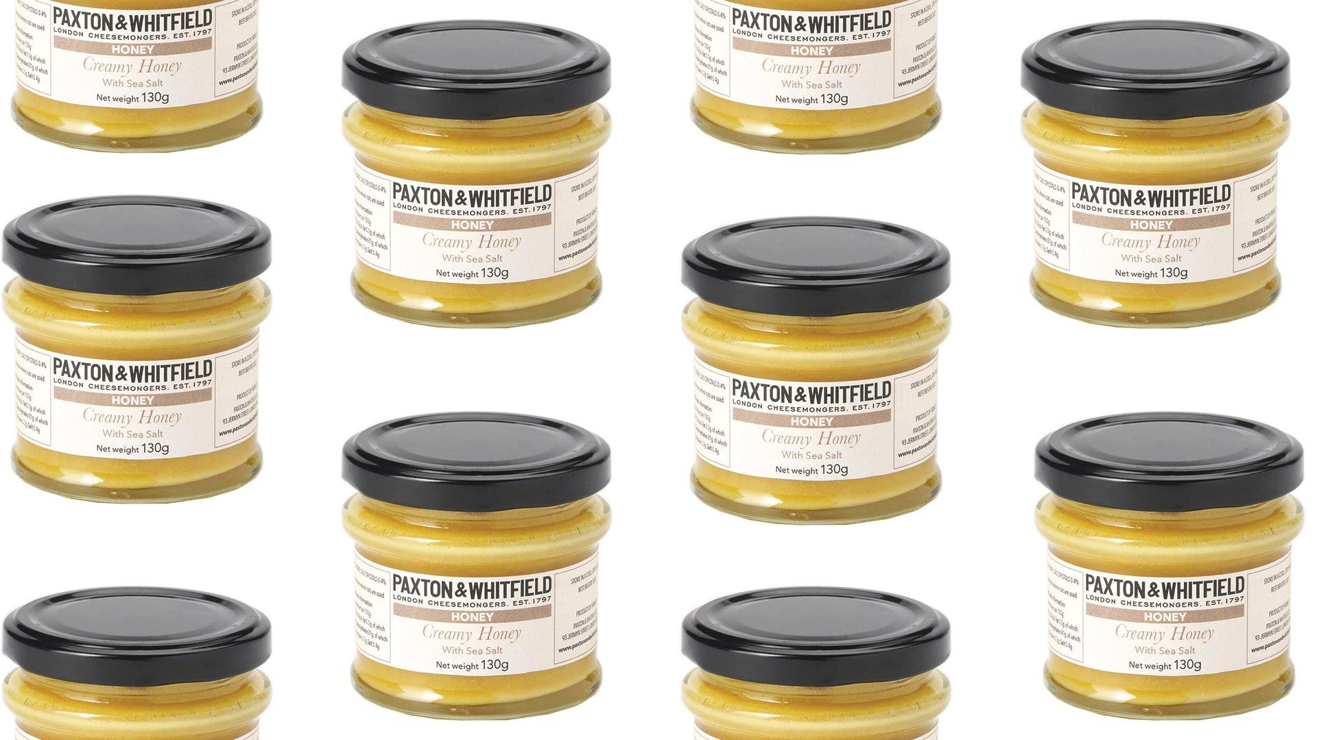 Paxton & Whitfield creamed honey with sea salt