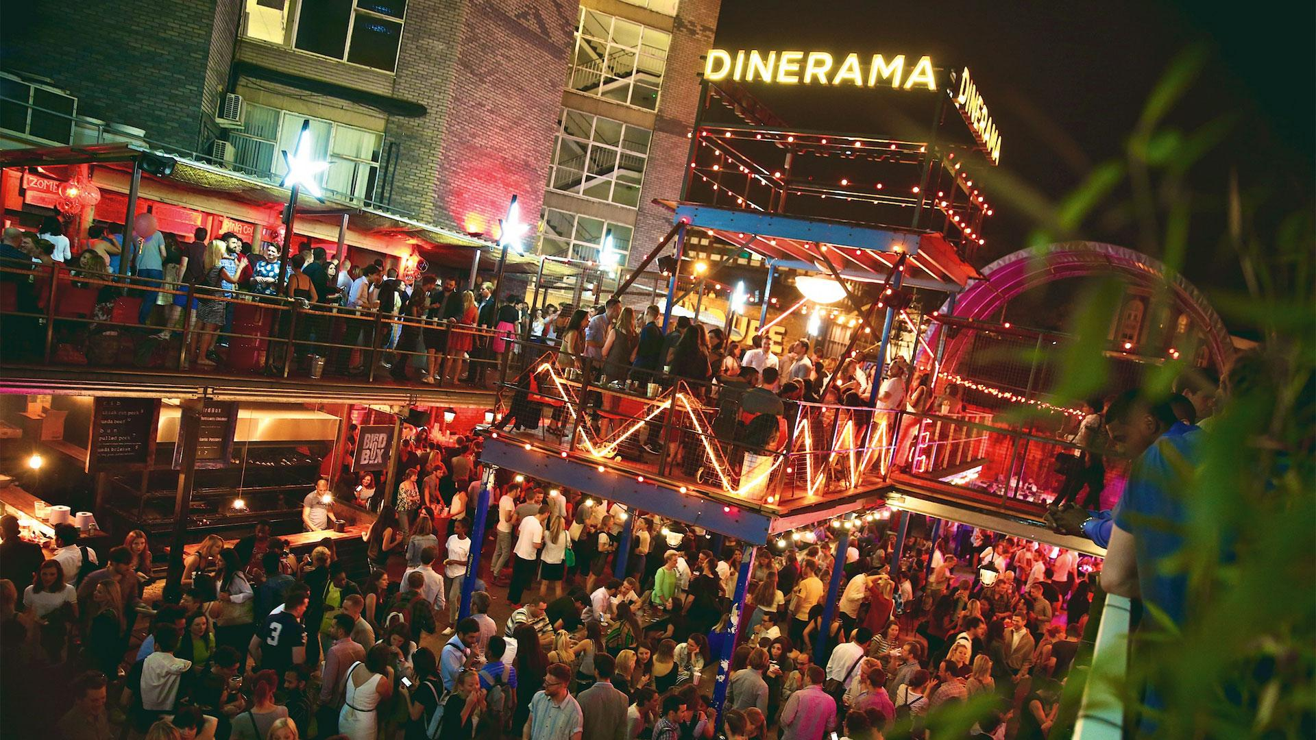 Street Feast's Dinerama on a busy Friday night