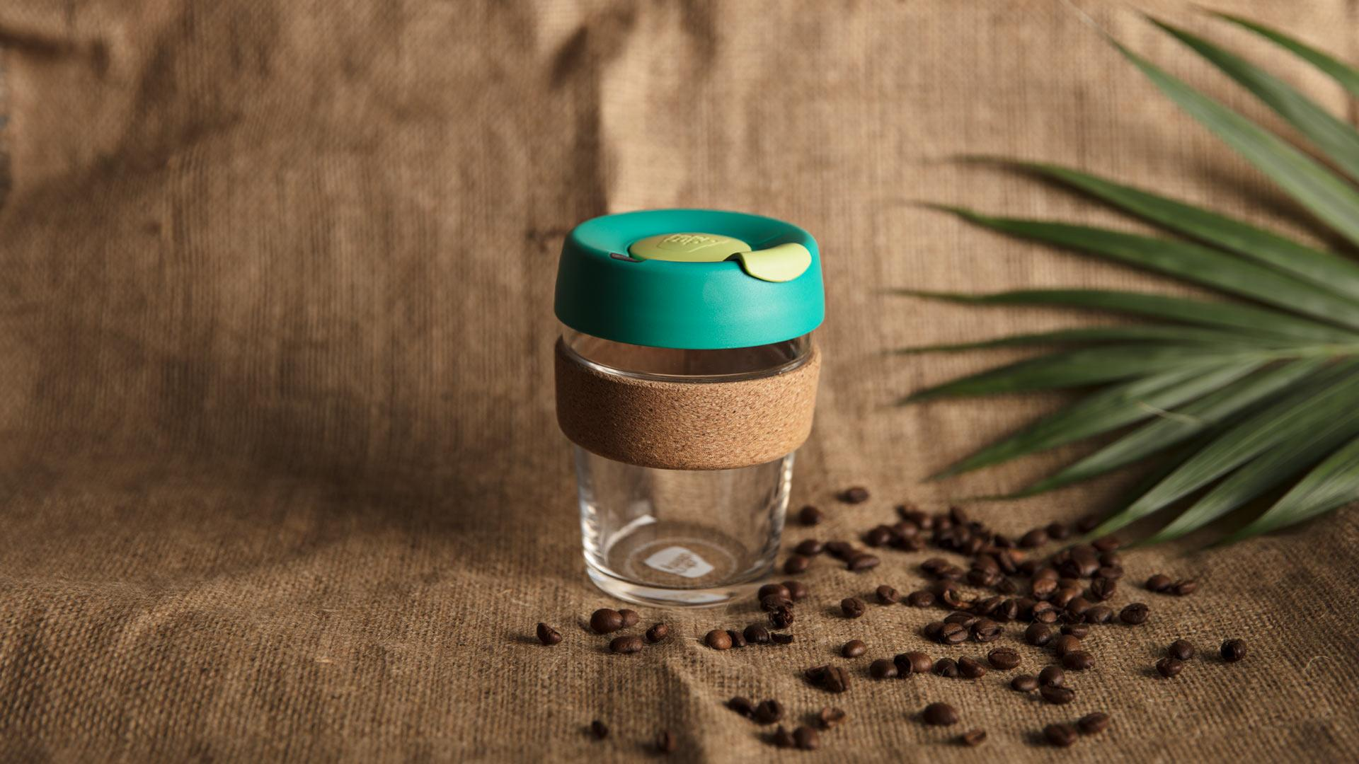 KeepCup's cork range in turbine