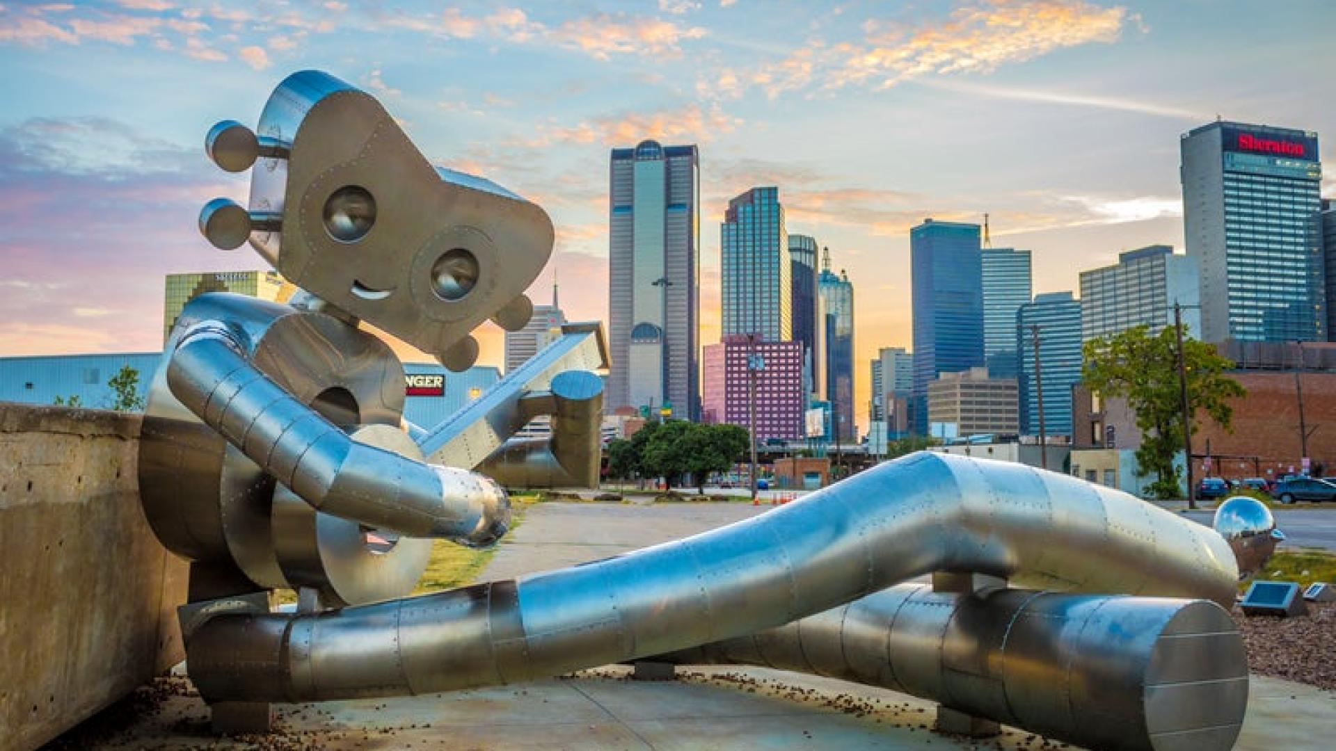Art in Dallas's Deep Ellum district