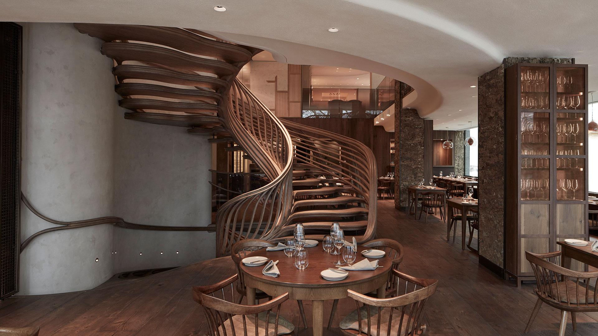The dining room at Hide in Mayfair