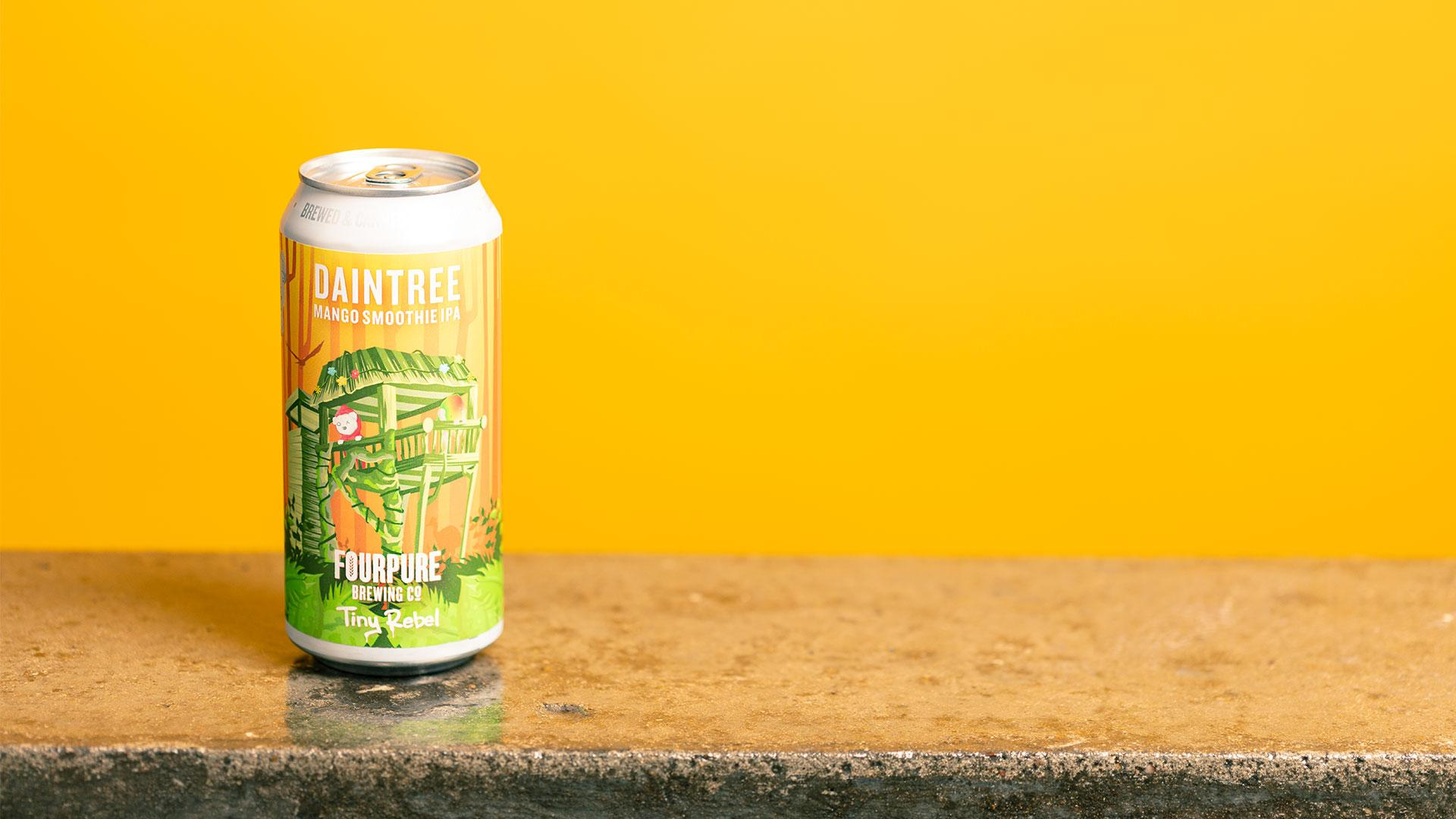 Tesco craft beer: Fourpure x Tiny Rebel Daintree Mango Smoothie IPA