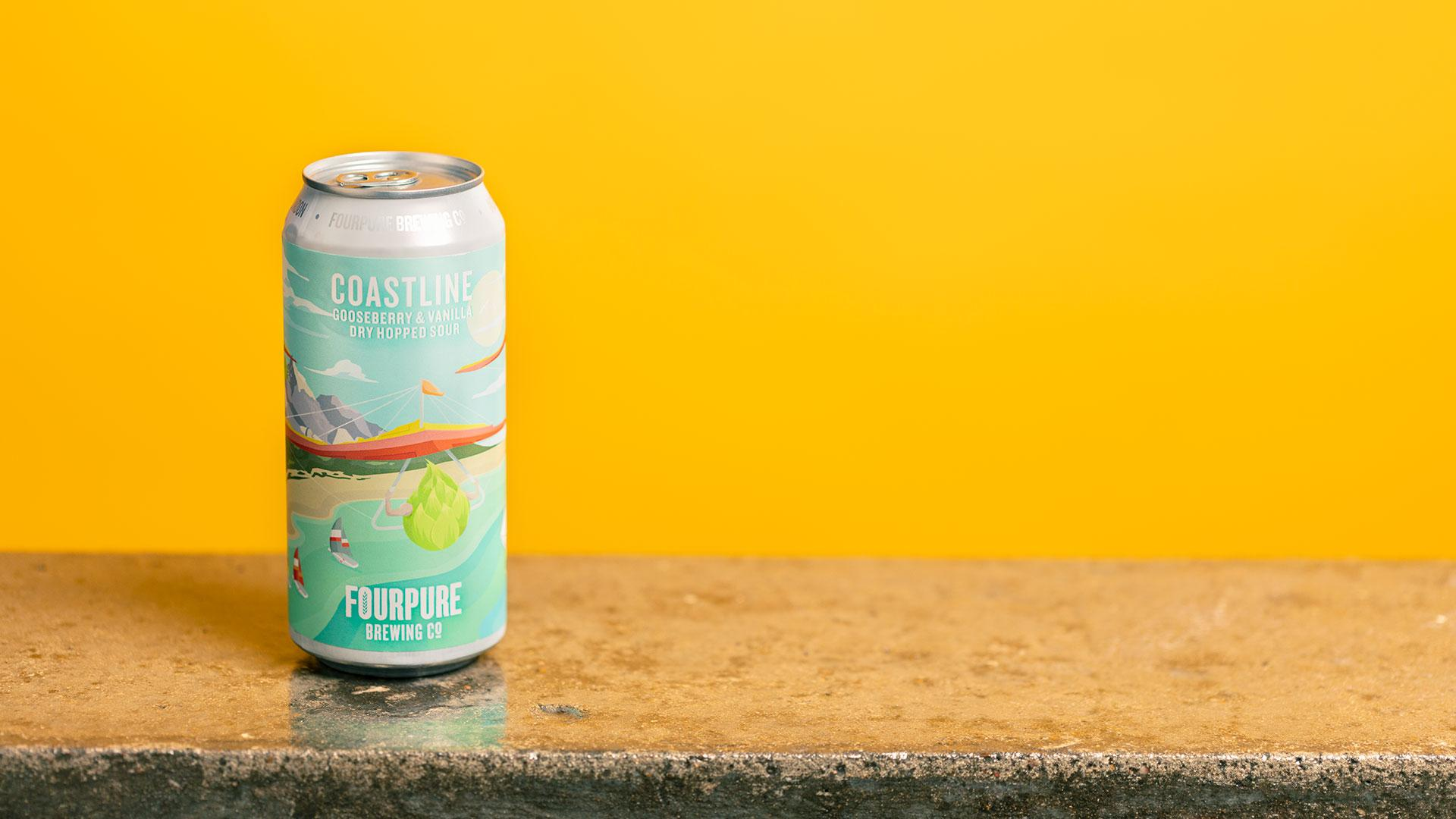 Tesco craft beer: Fourpure Coastline Gooseberry & Vanilla Dry Hopped Sour