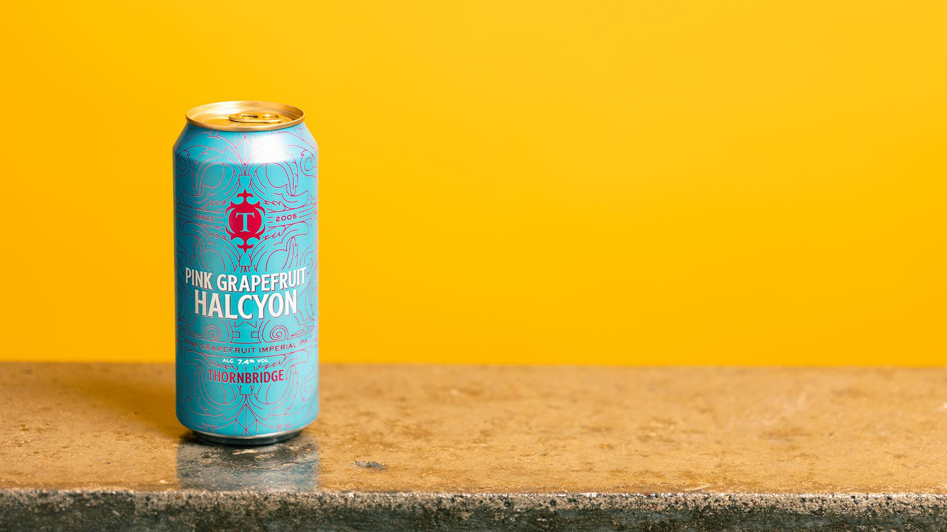 Tesco craft beer: Thornbridge Pink Grapefruit Halcyon