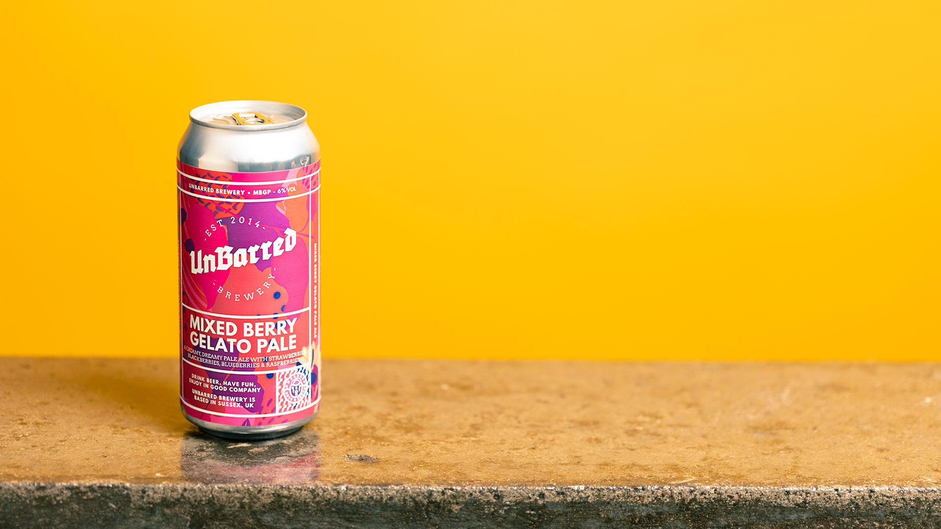 Tesco craft beer: UnBarred Mixed Berry Gelato Pale Ale