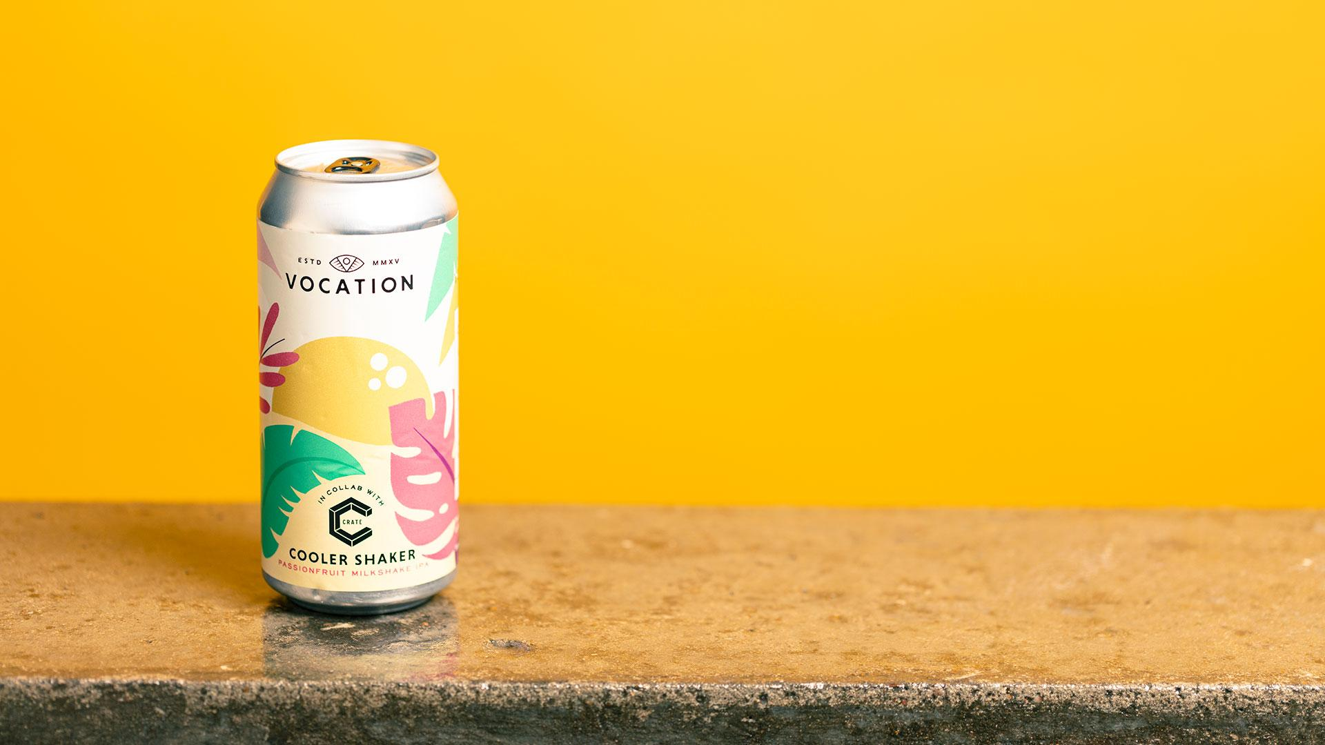 Tesco craft beer: Vocation x Crate Cooler Shaker Passionfruit Milkshake IPA