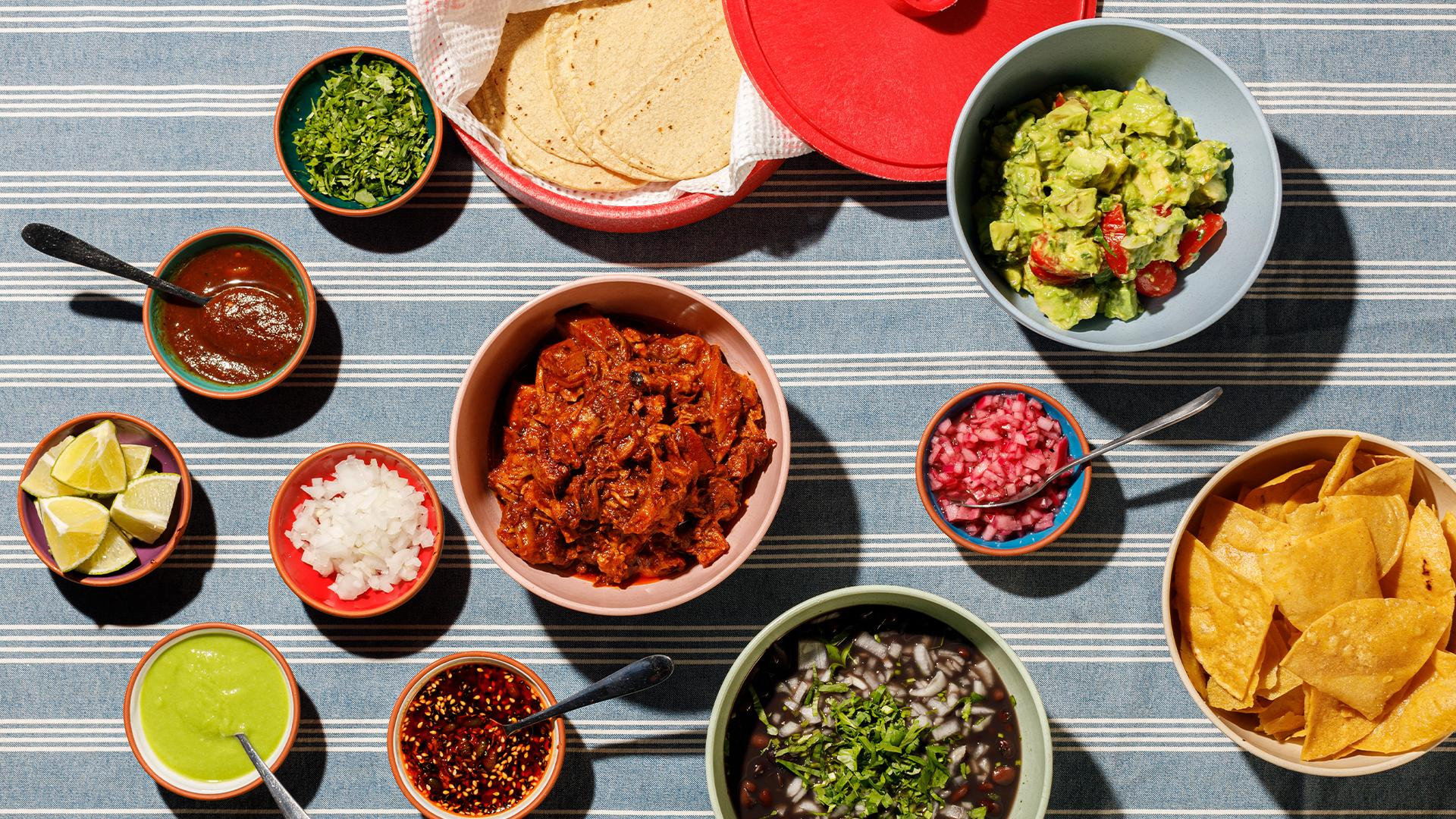 Restaurant meal kits: Tacos Padre