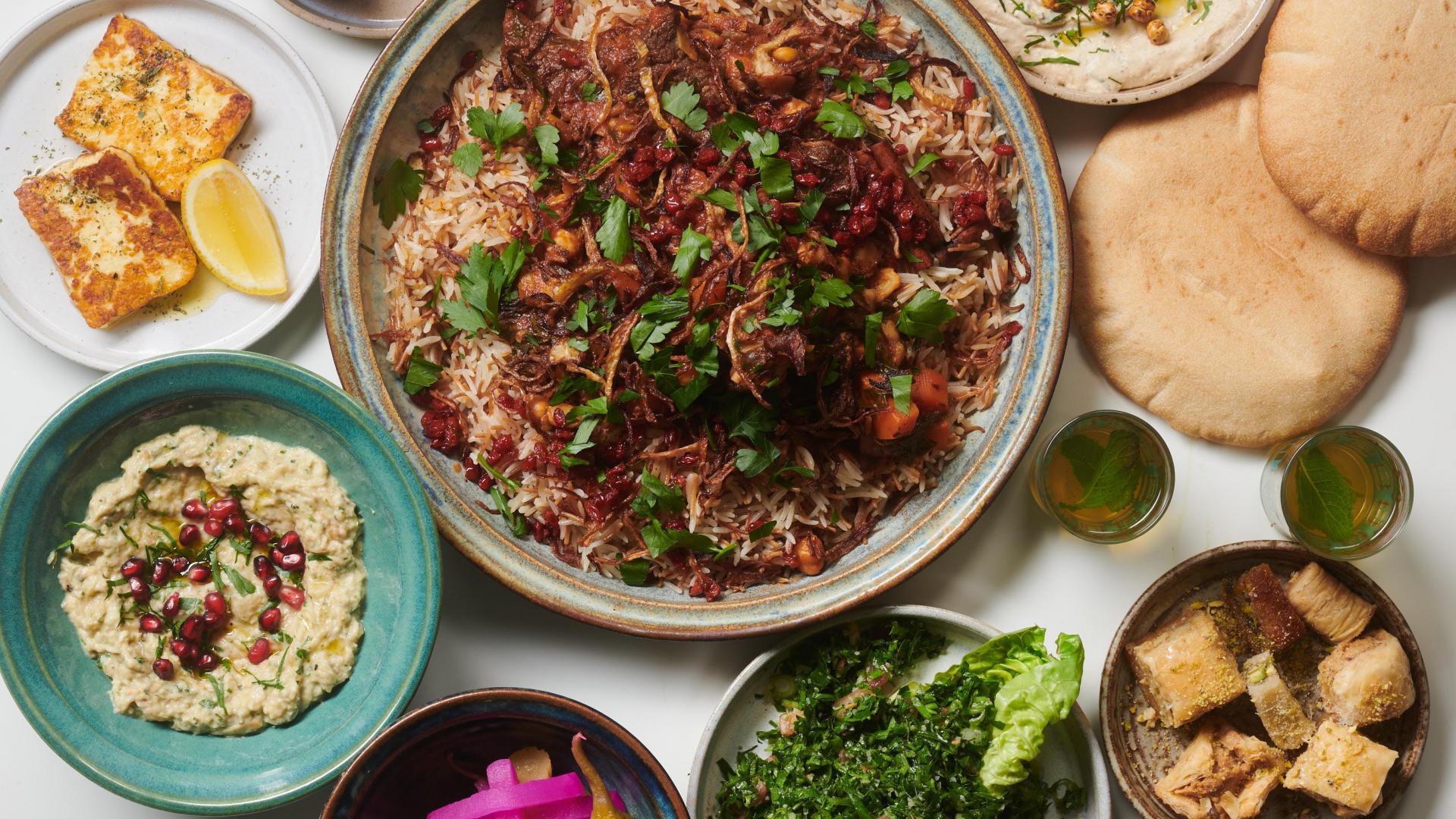 Restaurant meal kit: Arabia's Feast for Beirut