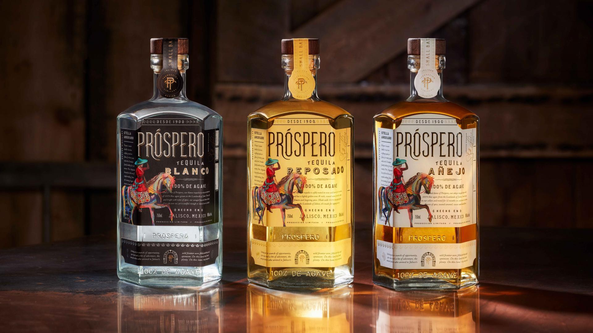 Rita Ora's Prospero tequila: the three expressions