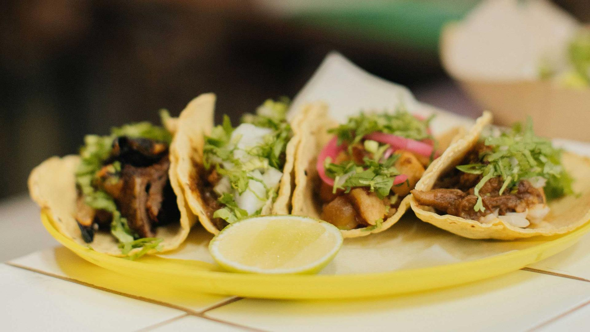 Tier 2 terraces for group dining London: Tacos Padre