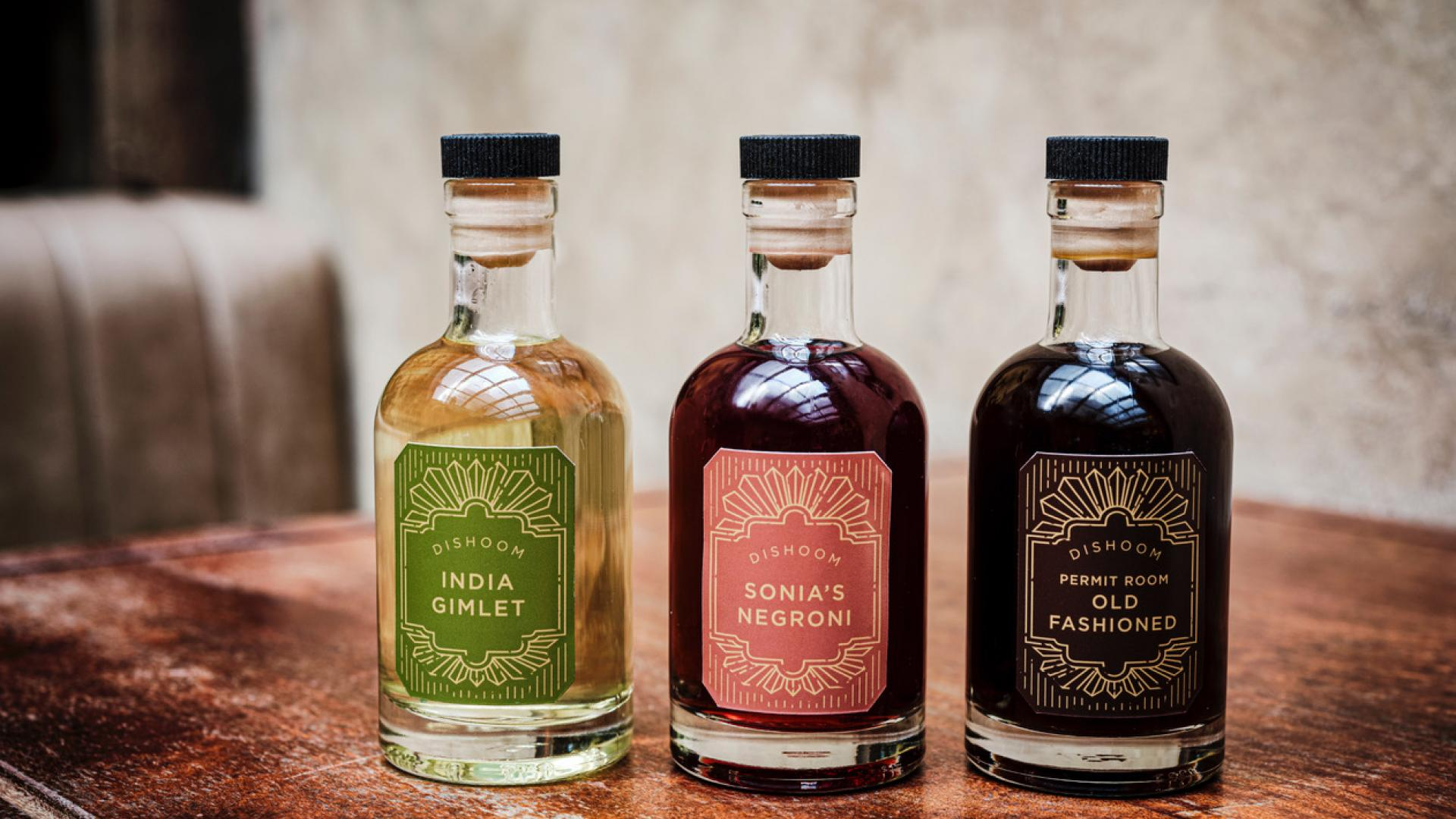 Home cocktail kit delivery | Dishoom's Permit Room Collection
