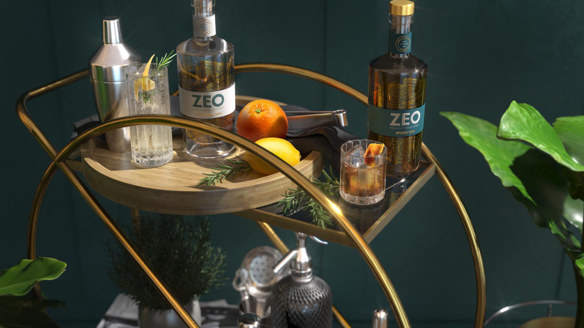 Non-alcoholic spirits: ZEO