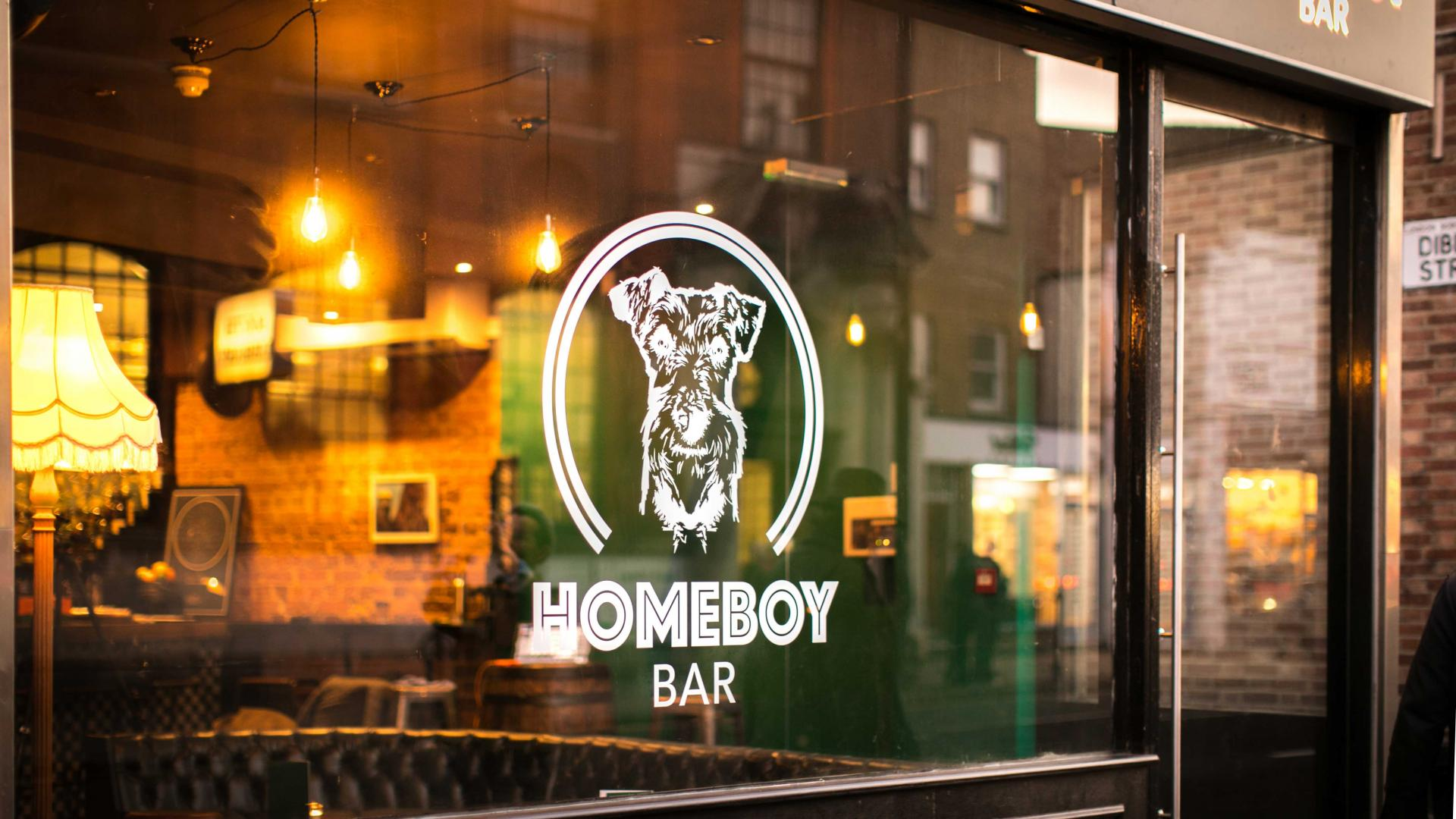 Future drinking: HomeBoy's bar front