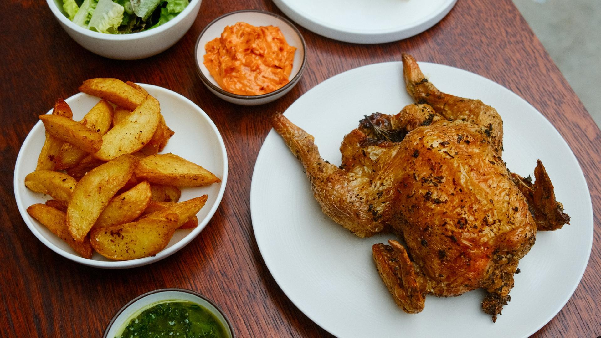 Roast chicken London: Arrosto, Quality Chop House