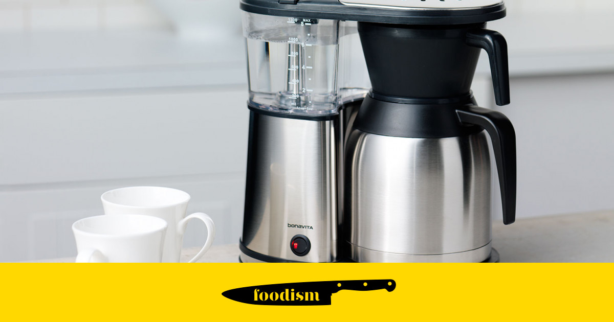 New brew hits the UK: Bonavita BV1900TS 8-Cup Coffee Maker Foodism