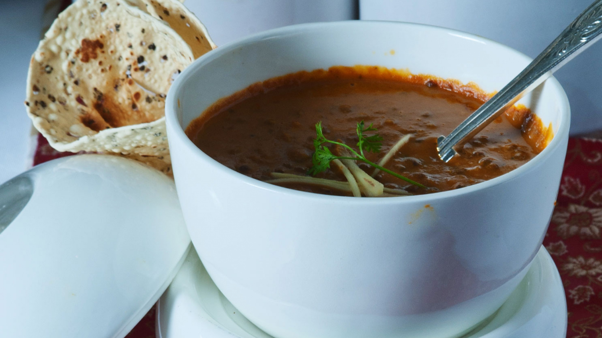 Dal makhani from Indian restaurant Gaylord