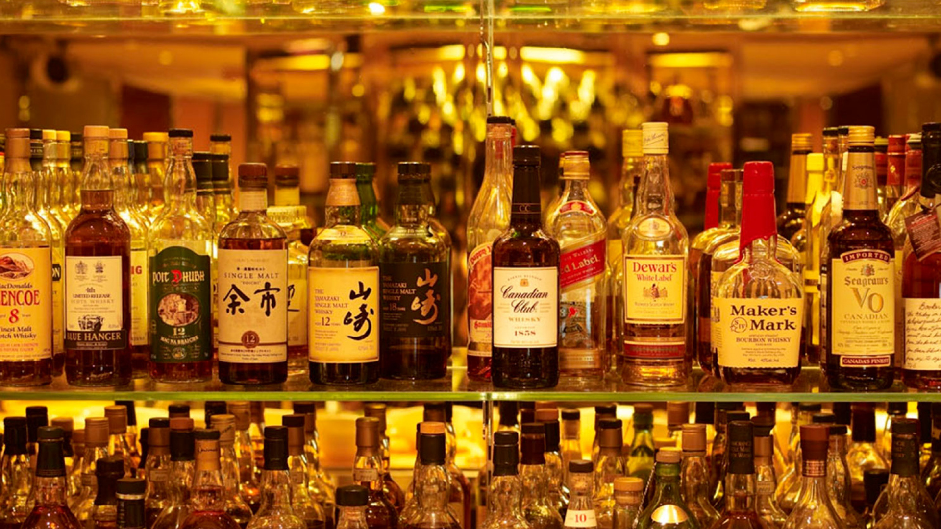 Behind the bar at The Athenaeum