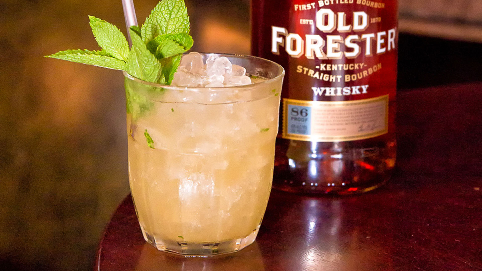 Old Forester's Bourbon Smash