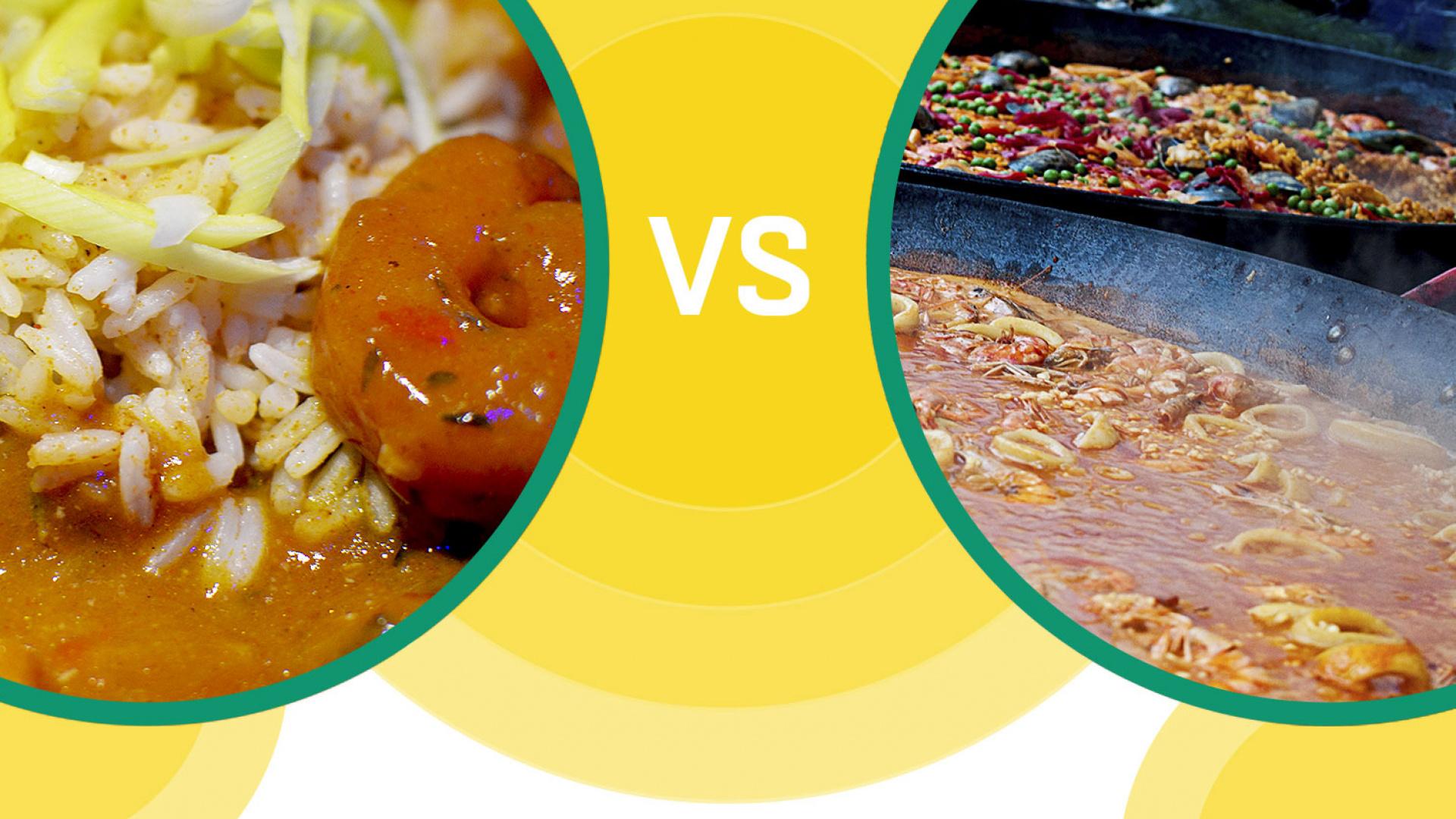 Street Food Fight: PaellavsGumbo