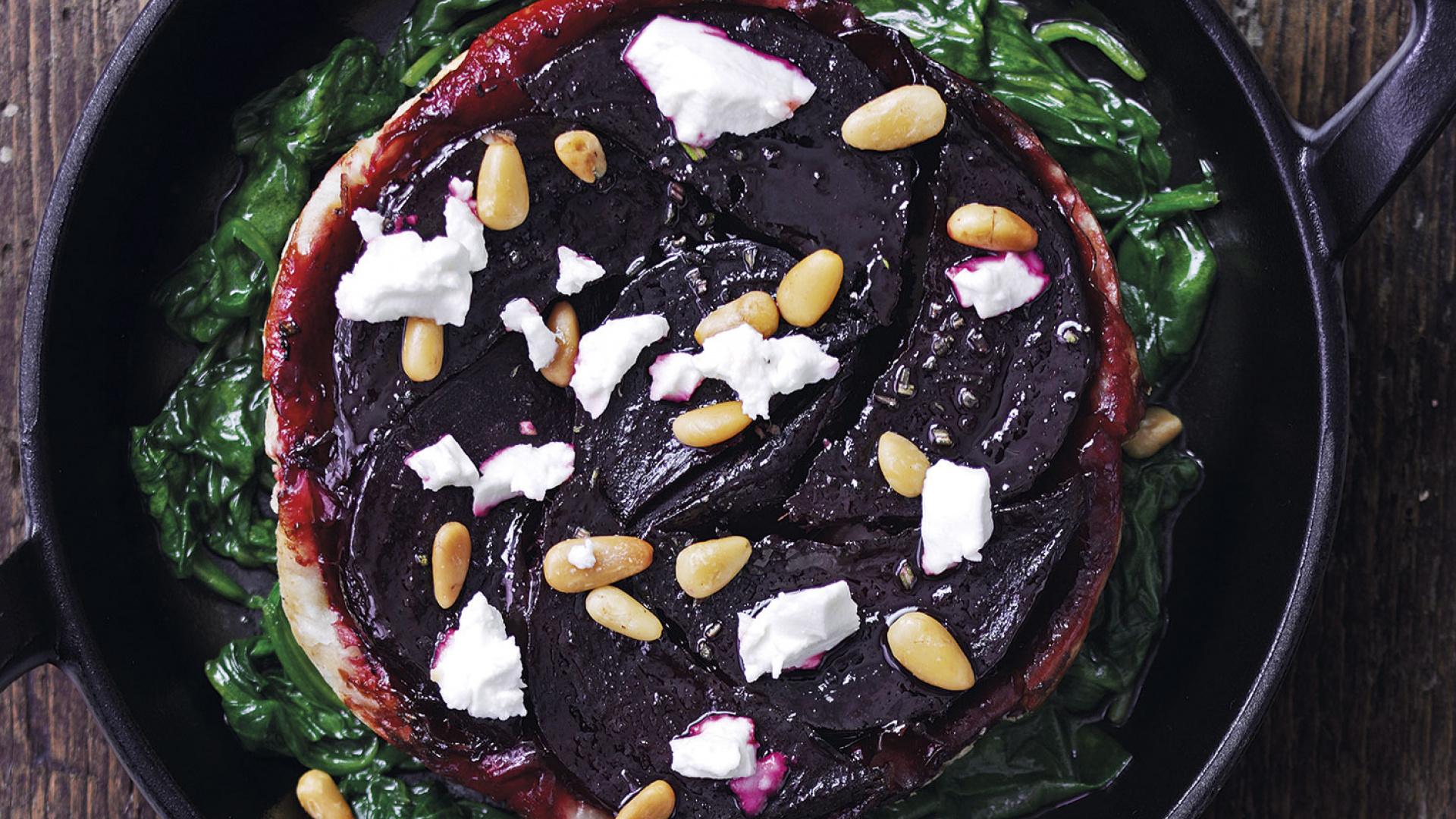 The Ninth beetroot tart