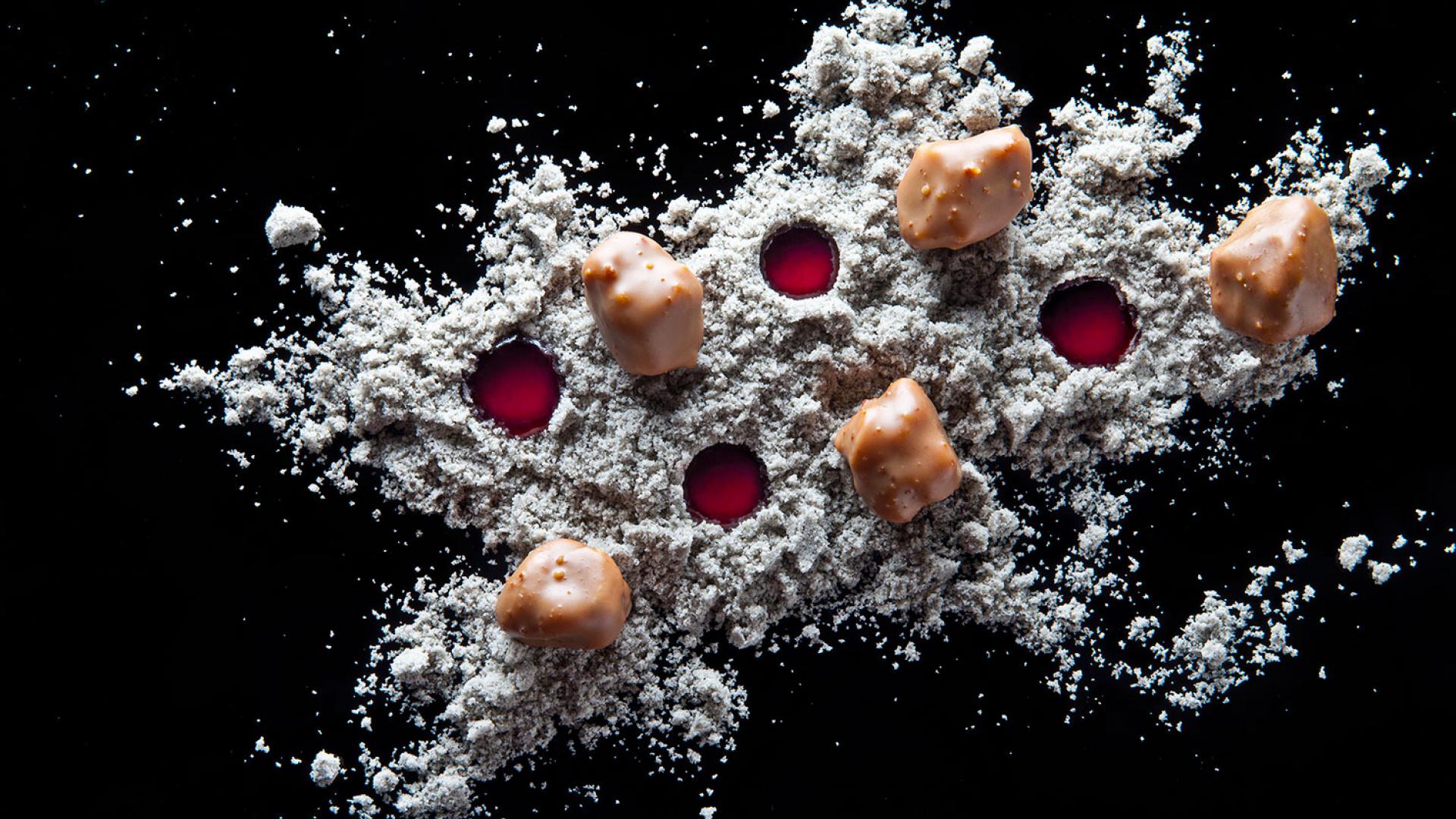 Ametsa's moon rocks dish